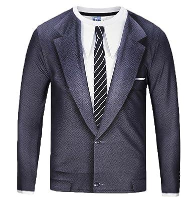 Amazon.com: Japonés estilo de vida traje de negocios camisa ...