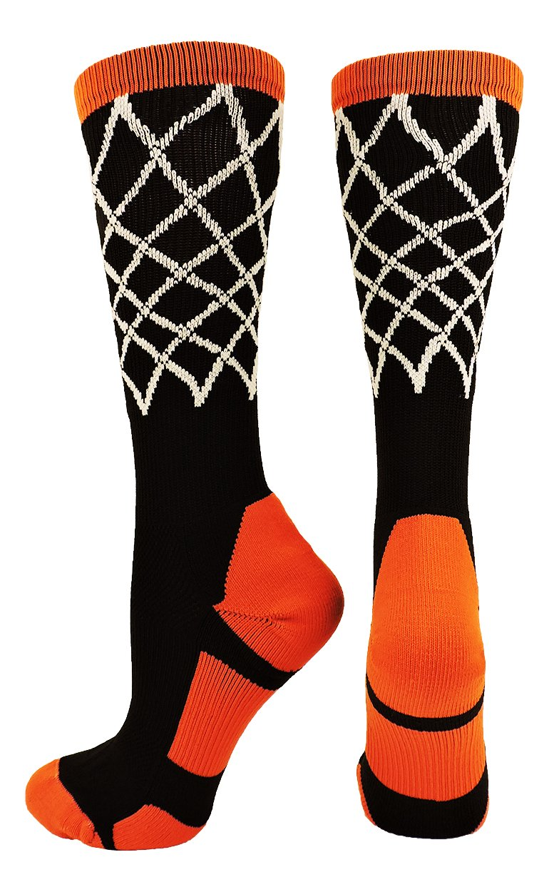 Crew Length Elite Basketball Socks with Net