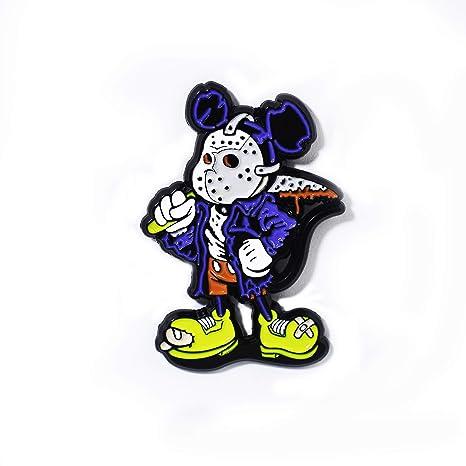 Jason Voorhees - Colgante, diseño de Mickey Viernes 13: Amazon.es ...