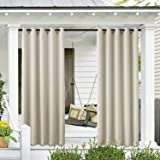Cololeaf Outdoor Curtain for Patio Waterproof