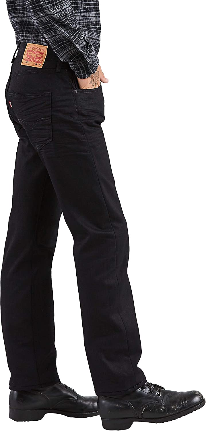 Levi 's Hombre Big-Tall 550 Relaxed-fit Jean Negro Brillante