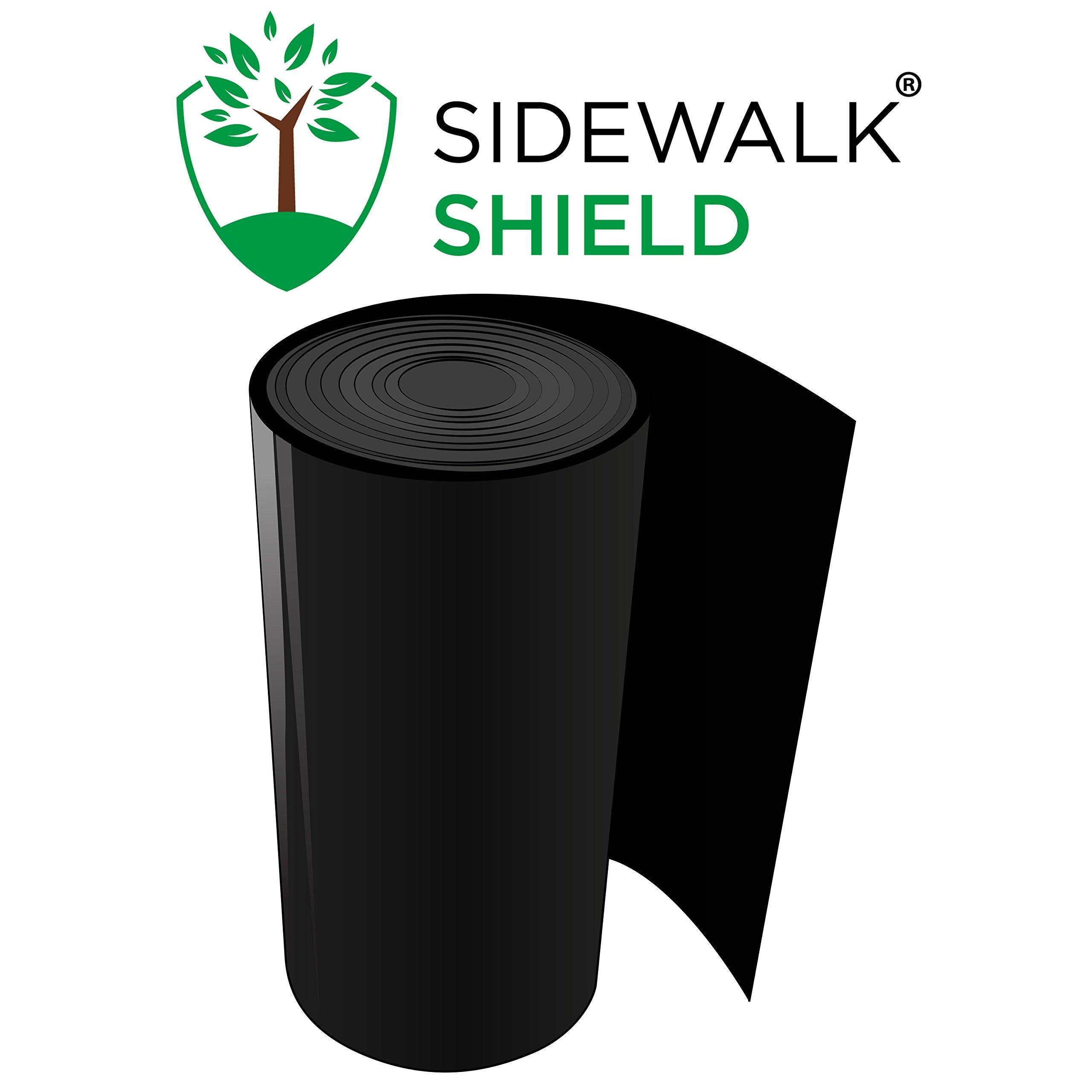 Sidewalk Shield - Tree Root Control Barrier (Standard Duty - 18 inch depth, 50 feet)