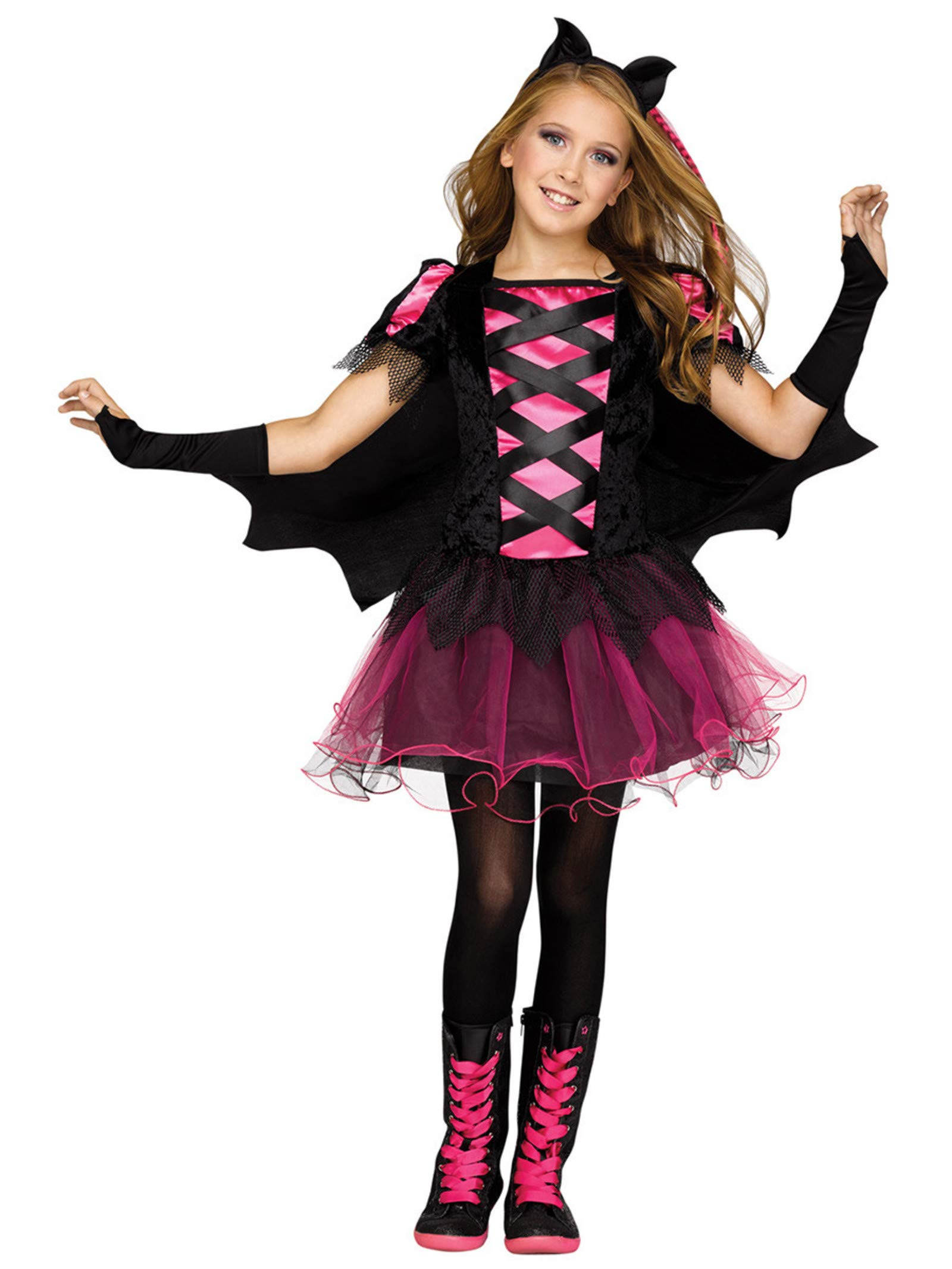 Fun World 115382L Queen for Kids Children's Costume, Large, Multicolor by Fun World