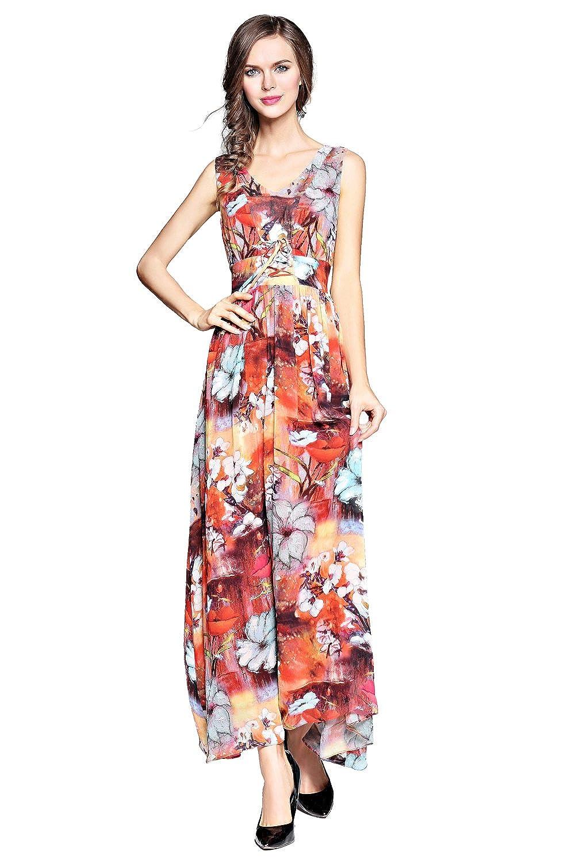 4f60aad145fe Top4: Joy EnvyLand Women\'s Flower Formal Beach Evening Prom Party Summer Maxi  Dress