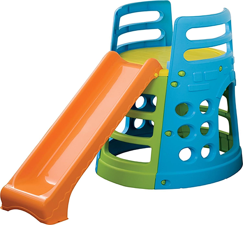 Palplay kletterturm mit rutsche spielturm g nstig kaufen for Pool aus plastik