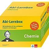 Klett Abi-Lernbox Chemie: 100 Lernkarten mit den wichtigsten Aufgaben fürs Abitur