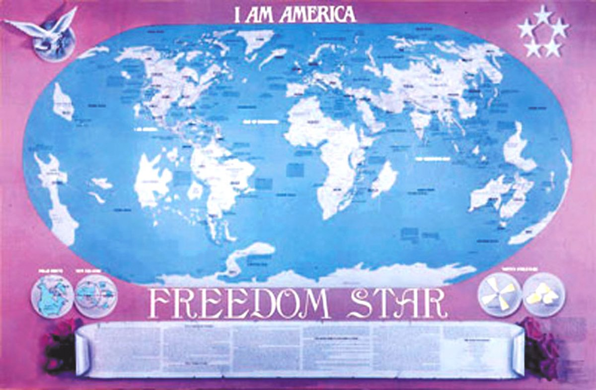 I Am America Map Golden Cities.I Am America Freedom Star World Earth Changes Map Lori Adaile Toye