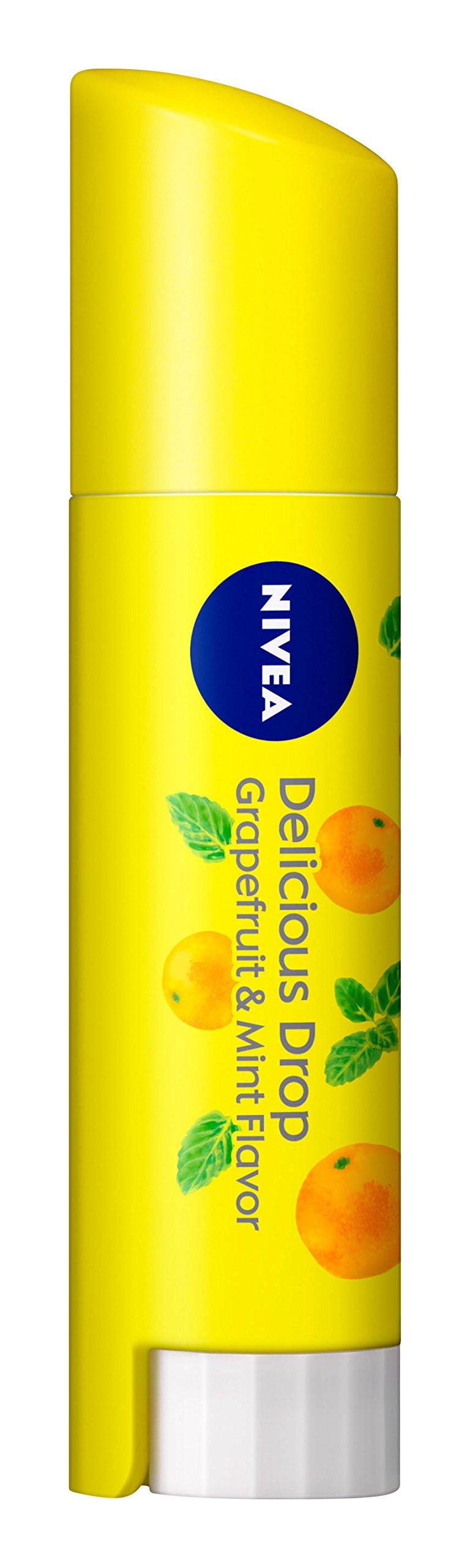 Nivea JAPAN Scent 3.5g of Nivea flavor lip delicious drop grapefruit