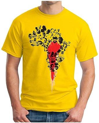 OM3 - BLOODY AFRICA - T-Shirt Apartheid BLACK Kolonialismus Sklaverei EBOLA  SWAG EMO , S - 5XL: Amazon.de: Bekleidung