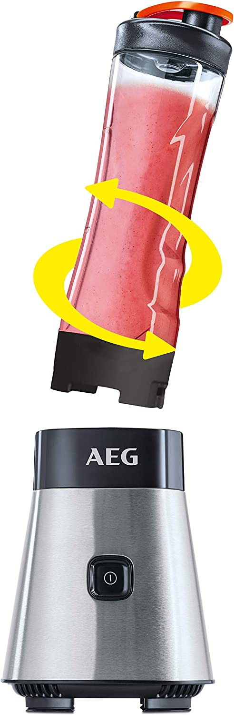 AEG SB2400 Batidora de Vaso Good To Go, Función Turbo, Cuchilla de ...