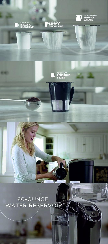 Amazon.com: Keurig Hot 2.0 K525 Plus Series Single-serve Coffee ...
