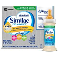 48-count Similac Pro-Advance Infant Formula with 2-FL HMO for Immune Support (2 fl. oz. Ready to Feed Newborn Bottles)