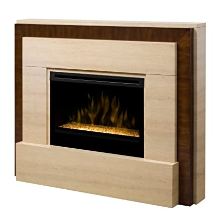 Amazon Com Dimplex Gibraltar Electric Fireplace Insert Style Glass