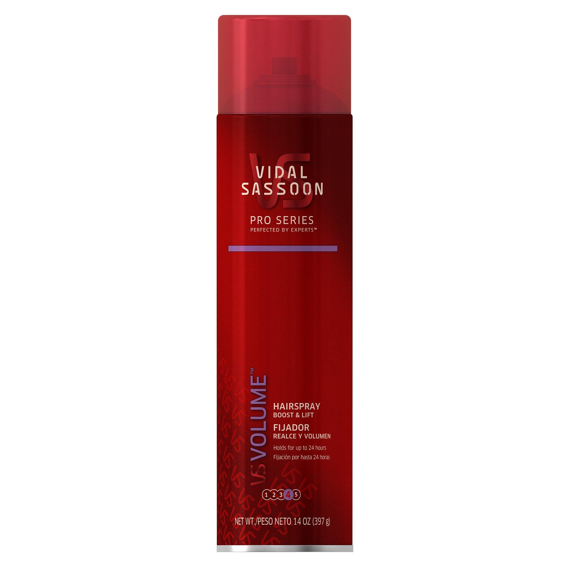Vidal Sassoon Pro Series Boost & Lift Hair Spray 14 Oz