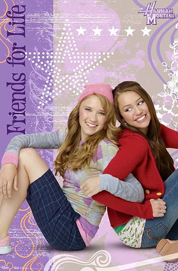 Amazon Com Hannah Montana Friends For Life Tv Poster Print 22x34 Posters Prints
