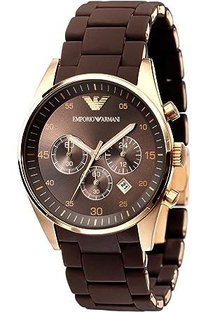 newest 57481 cb65e [エンポリオ アルマーニ]EMPORIO ARMANI クロノグラフ 腕時計 AR5890 [並行輸入品]