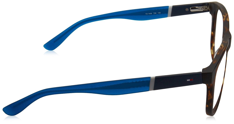 Blue TH 1406 T99 Optical frame Tommy Hilfiger Acetate Matt Havana