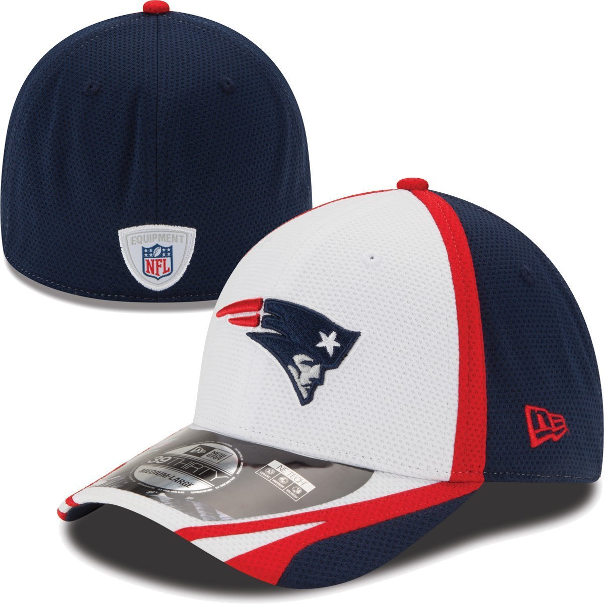 a83483a87 Amazon.com   New England Patriots New Era 39THIRTY 2014 Official Training  Flex Fit Hat   Sports   Outdoors