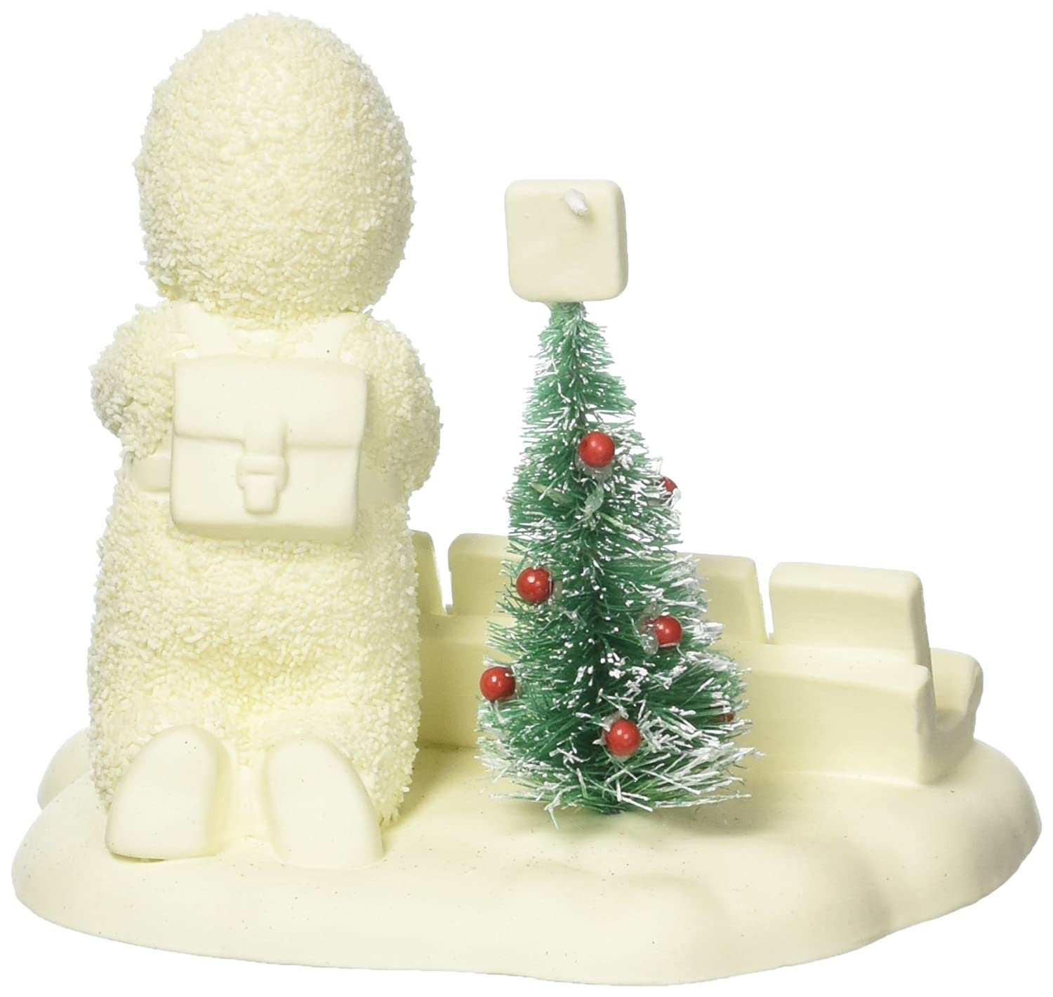 Department 56 Snowbabies Christmas Scrabble Porcelain Figurine, 3.4