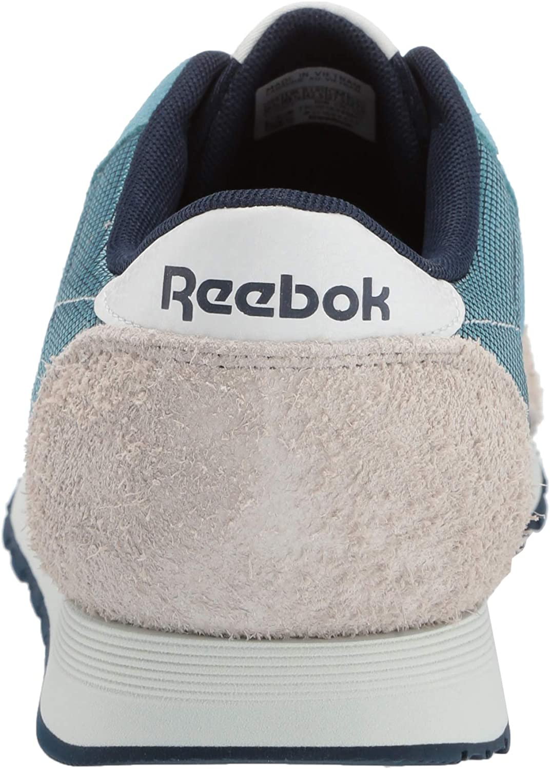 Reebok Classic Nylon, Sneakers Basses Homme Mineral Mist Collegiate Navy Light Sand Polar