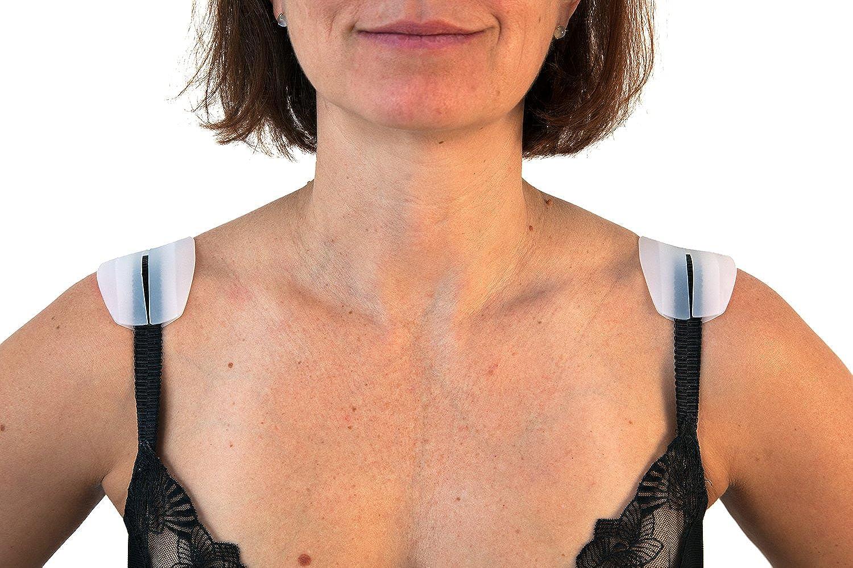 Fashion First Aid Womens Shoulder Saver Silicone Strap Cushions