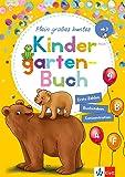 Klett Mein großes buntes Kindergarten-Buch: ab 3 Jahren, Erste Zahlen, Buchstaben, Konzentration: Erste Zahlen…