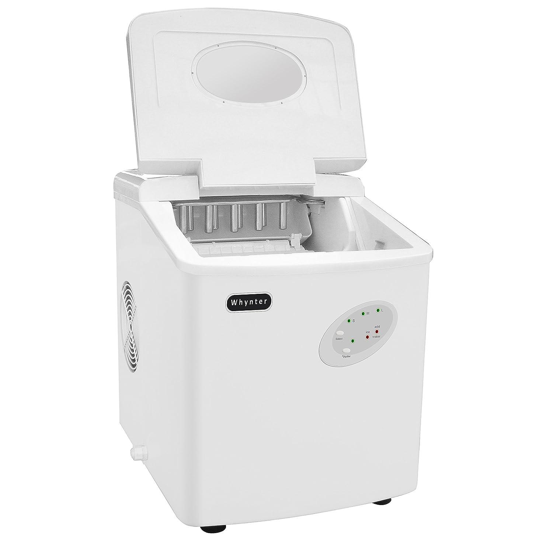 Pebble Ice Machine Amazoncom Whynter Imc 330ws Portable Ice Maker With 33 Pound