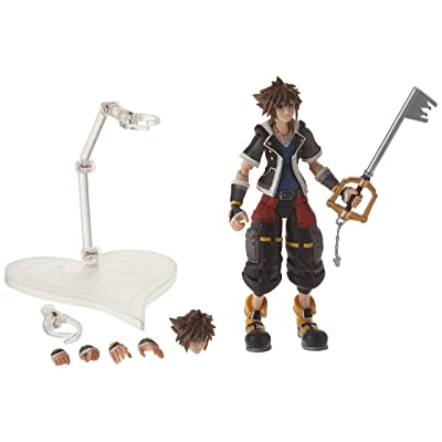 Square Enix Kingdom Hearts 3: Sora (2Nd Form) Bring Arts Action Figure: Square-Enix: Toys & Games