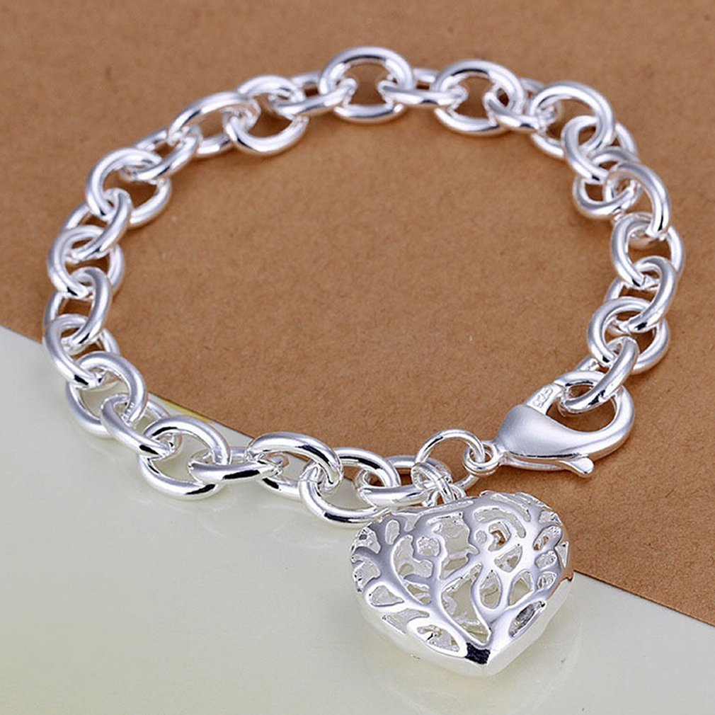 Hollow Heart-shaped Bracelet O...
