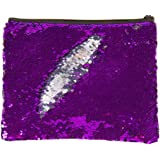 Style.Labs Magic Sequin Pouch, Purple/Silver (76614)