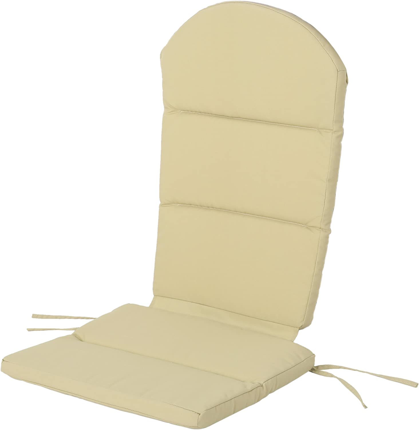 Christopher Knight Home 304530 Reed Outdoor Water-Resistant Adirondack Chair Cushion, Khaki