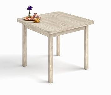 HOGAR24.ES- Mesa Cuadrada Multiusos Comedor Cocina Dimensiones 90 cm ...