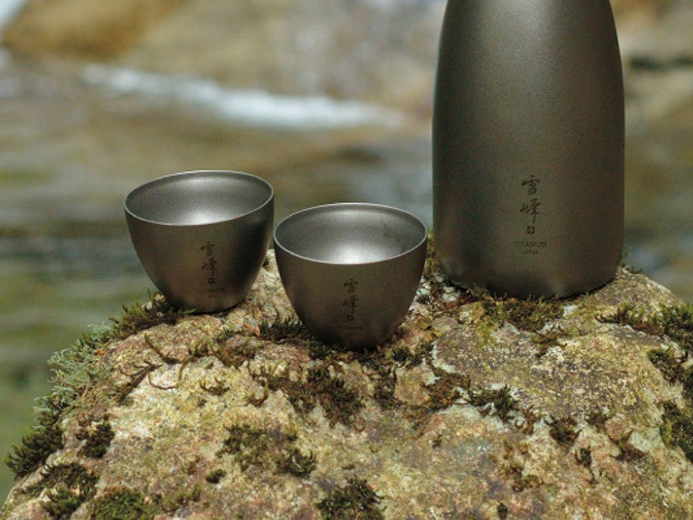 Snow Peak Men's Sake Insulated Stacking Cup, Silver, One Size by Snow Peak (Image #4)