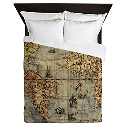 Amazon.com: CafePress World Map Vintage Atlas Historical ...