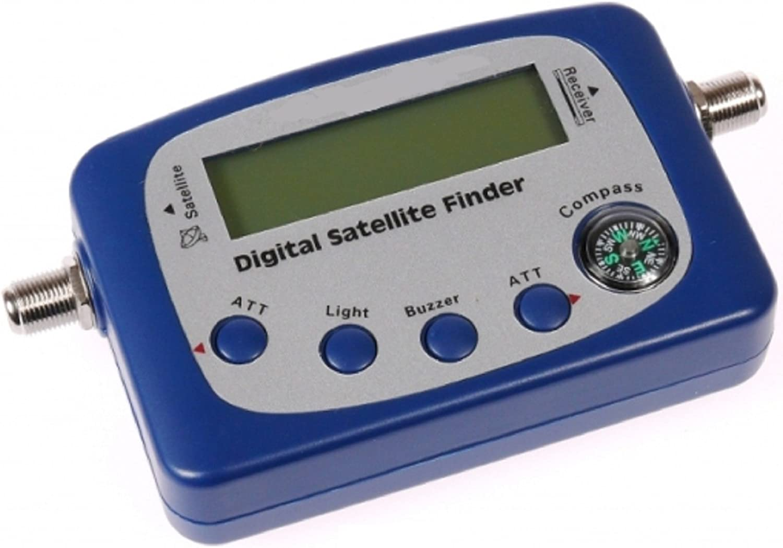 SATELLITE FINDER DIGITAL SIGNAL METER LNB SATELLITE FTA SHAW BELL DISH  DIRECTV