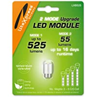 LiteXpress LXB525 2Mode LED Upgrade Modules 525 or 55 Lumens for 3-6 C/D-Cell Maglite Torches