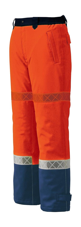 ジーベック XEBEC 秋冬用防水防寒パンツ 800 82 オレンジ L B0169PXAEM L|オレンジ オレンジ L