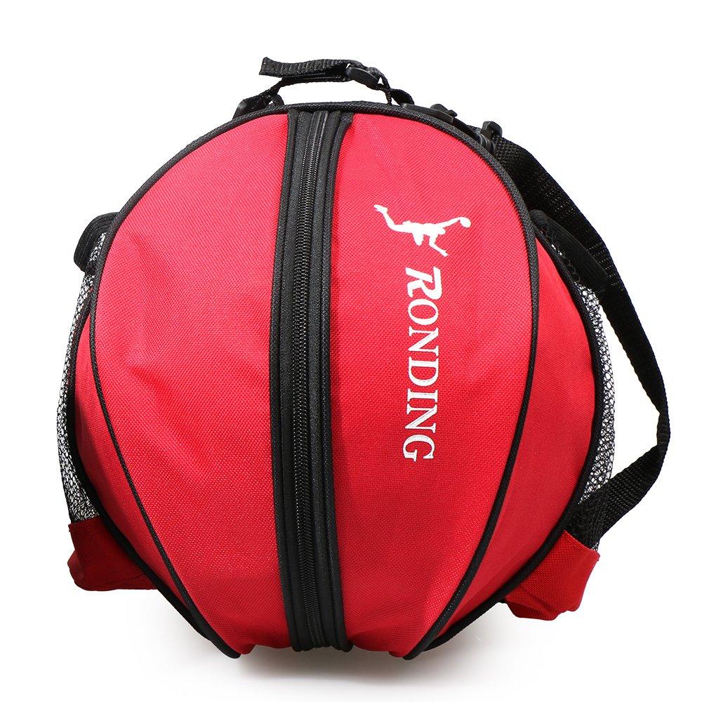 Fu/ßball Ball Volleyball Tragetasche Reisetasche f/ür M/änner und Frauen Runde Tasche f/ür Ball Sport Runde Umh/ängetasche Tasche Lixada Basketball Tasche