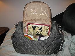 Amazon Com Storksak Poppy Convertible Diaper Tote Bags
