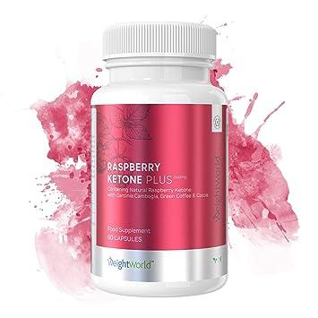 Raspberry Ketone Plus - Suplemento De Cetona De Frambuesa Para Quemar Grasa y Adelgazar - Adelgaza De Forma Natural, Segura y Eficaz Gracias A Su ...