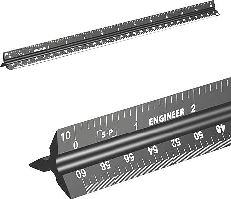 Engineering Scale Ruler