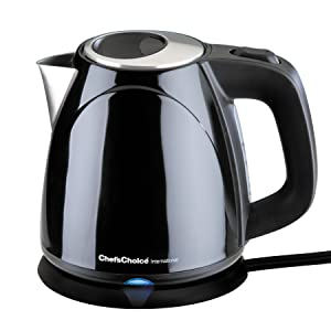 Chef's Choice 6730101 M673 International Cordless Compact Electric Kettle - Black, 32 oz.