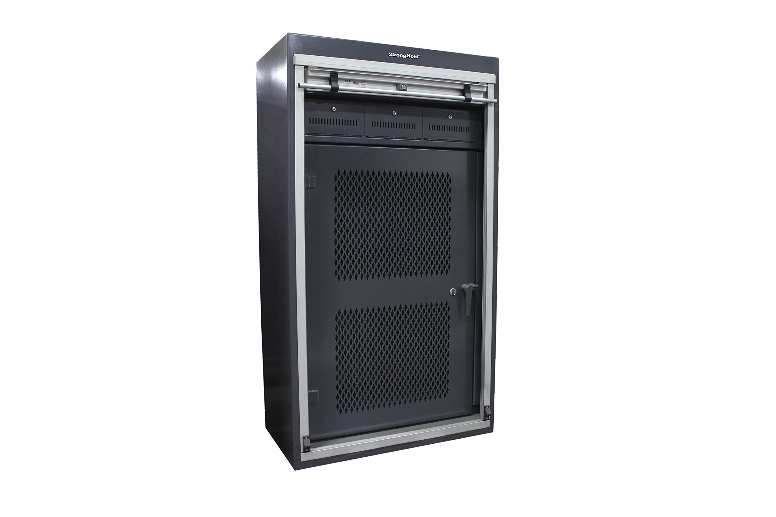 Strong Hold, 39''W x 22''D x 70''H, Modern Gun Vault / Gun Safe Cabinet - USA by Strong Hold