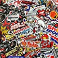 30 Mixed Random Car Racing Decal Stickers