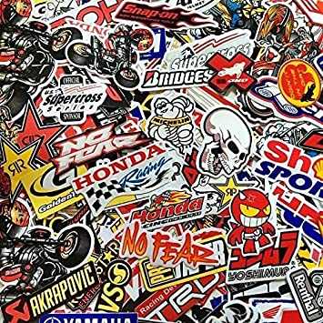 Roost Mx Motocross Graphics Car Decals 1