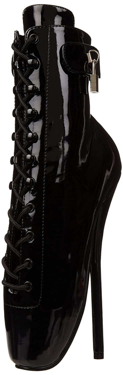Pleaser Women's Ballet-1025 Ankle Boot B000XUQP1K 11 B(M) US|Black Patent
