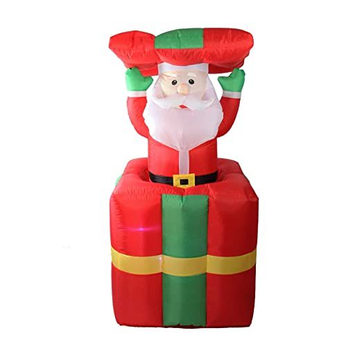 5 iluminado hinchable Pop Up yarda Arte Decoración de Navidad ...