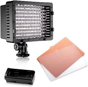 Nanguang CN-LUX560 LED Video Light Lamp for Canon Nikon Camera DV Camcorder Lighting