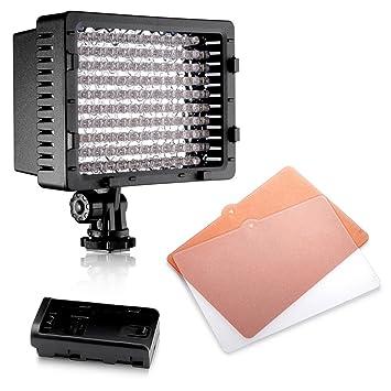 27fc4fffbd08 Neewer® CN-126 LED Videoleuchte Beleuchtung Dauerlicht für Kamera oder  Digital Video Camcorder