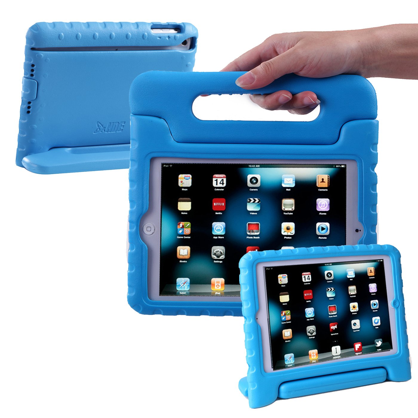 HDE iPad Mini Case for Kids - Shock Proof Rugged